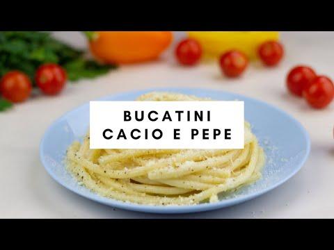 Easy Bucatini Cacio e Pepe Recipe | Pasta.com