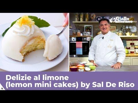 DELIZIE AL LIMONE (LEMON MINI CAKES) - Original Italian recipe