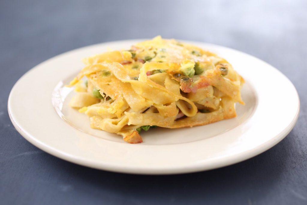 tagliatelle-carbonara-gluten-free-pasta-bake