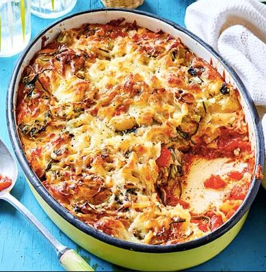 Creamy Courgette Lasagna