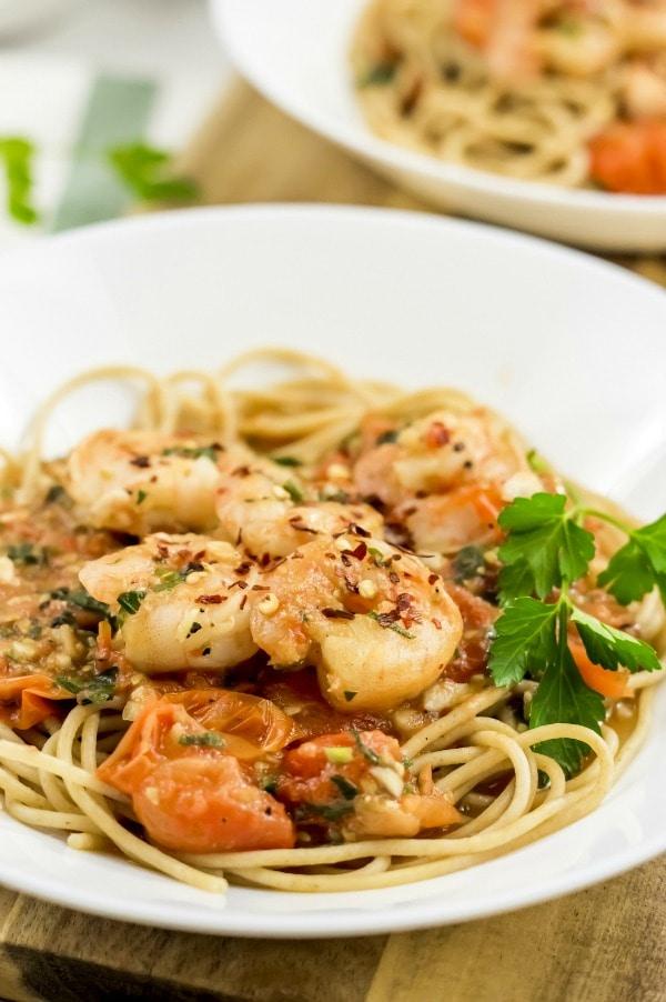 Weight-Watchers-Shrimp-Spaghetti
