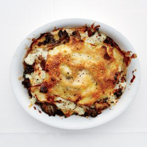 Alison Roman's Mushroom and Burrata Lasagnette