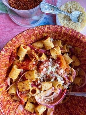 Alison Roman's Secret Ingredient Pasta Salad