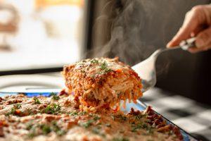 Spaghetti Pasta Bake Recipe