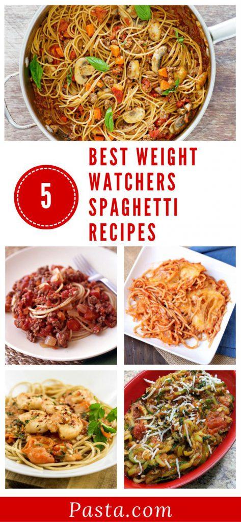 Best-Weight-Watchers-Spaghetti-Recipes