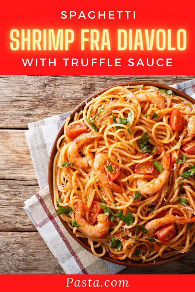 Spaghetti Shrimp Fra Diavolo Recipe
