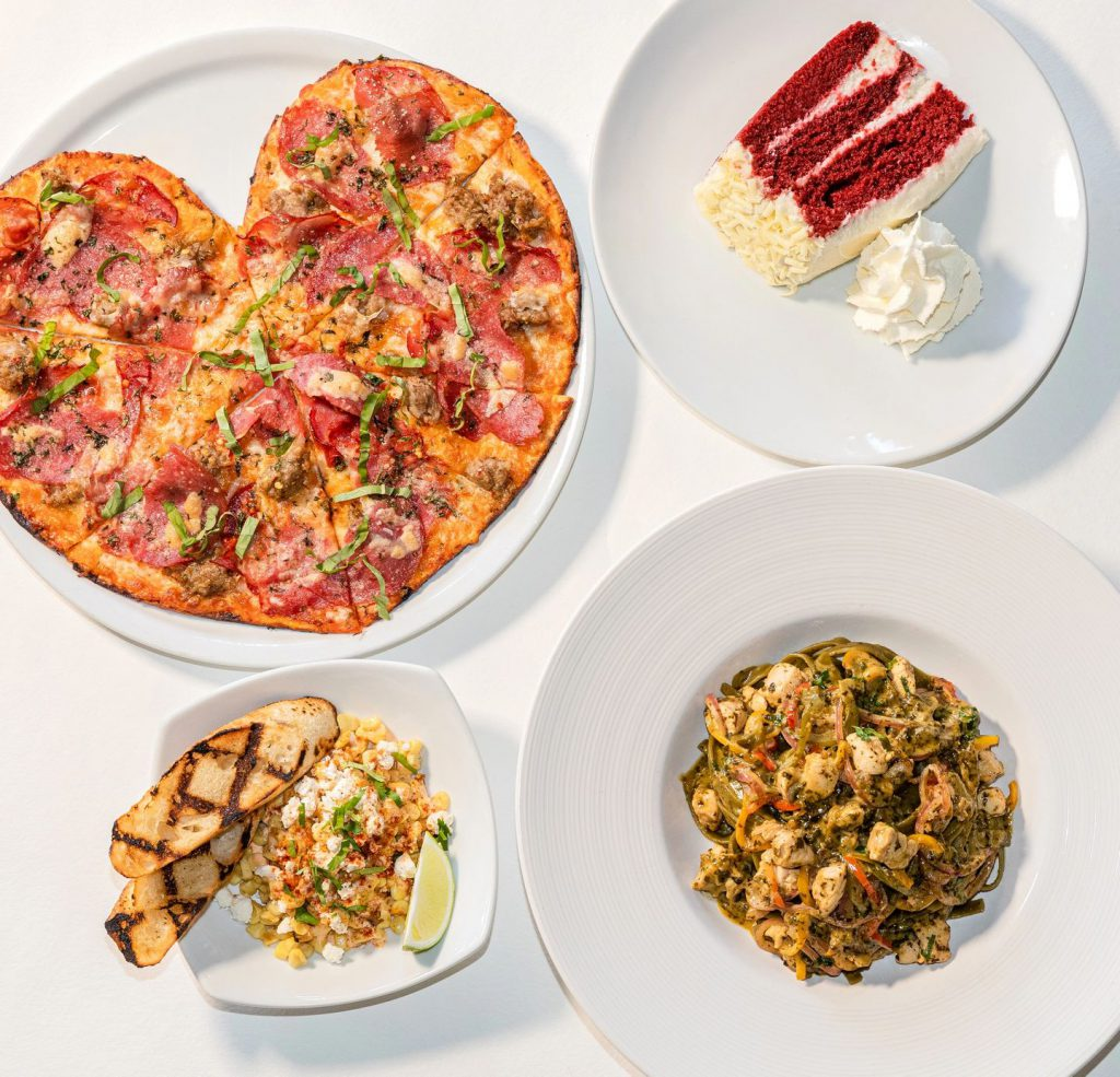 California Pizza Kitchen's Heart Pizzas