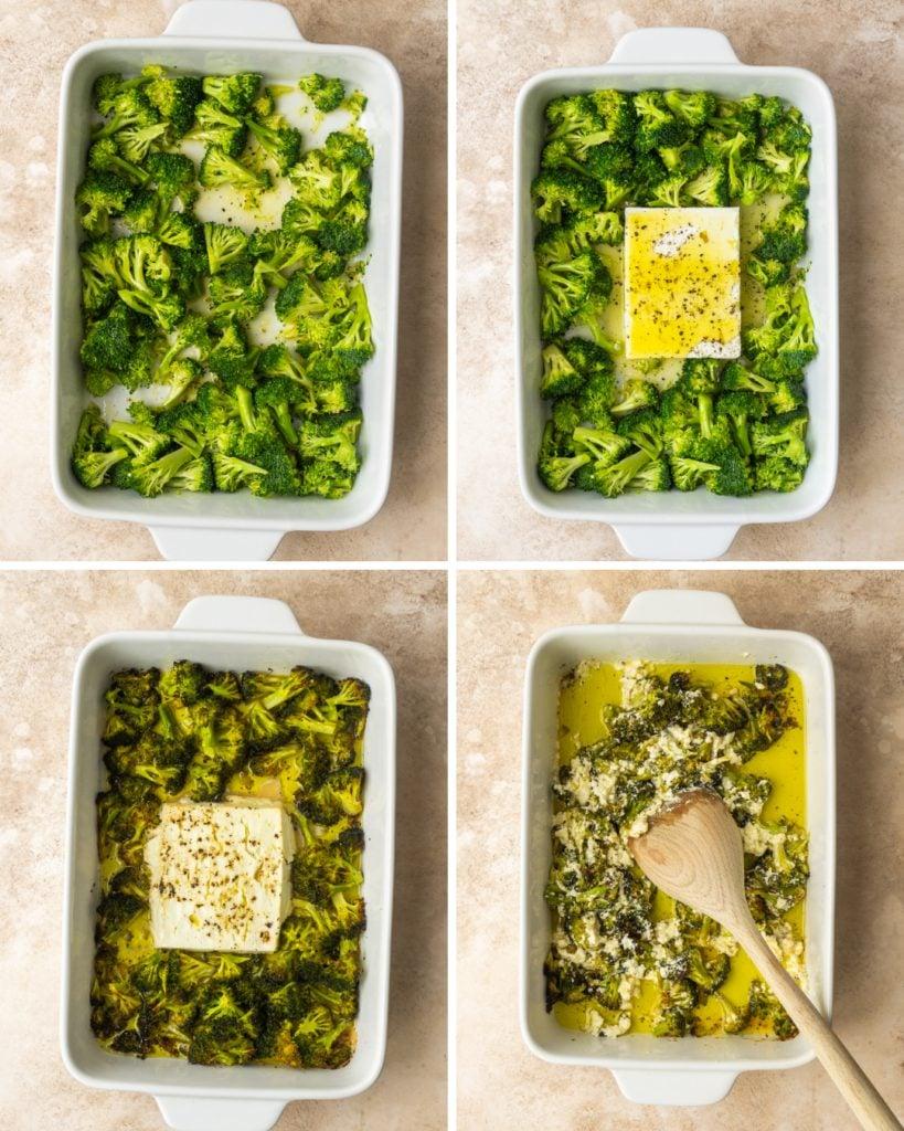 Baked Feta and Broccoli Pasta