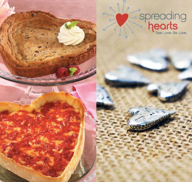Goldbelly's Spreading Hearts Charity Pizza Pack by Lou Malnati's Pizza
