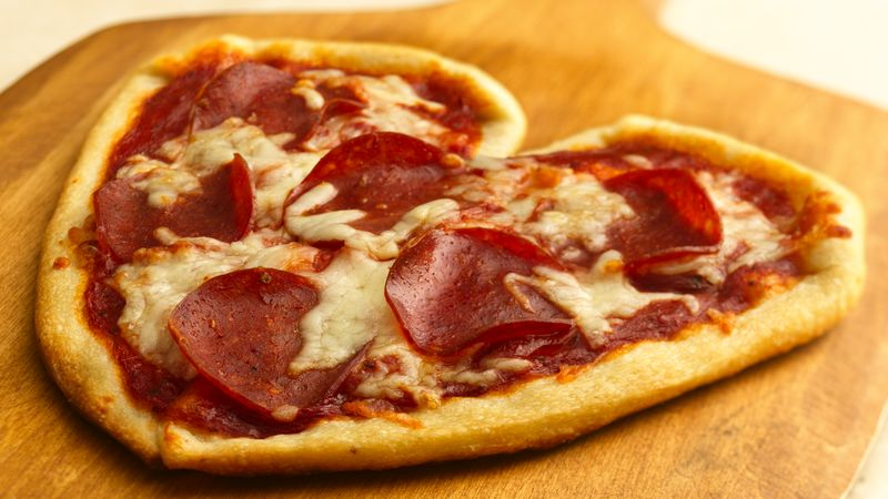 Pillsbury Valentine's Pizza