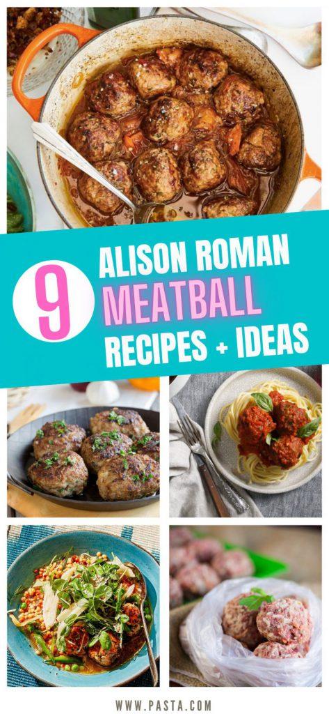 Alison Roman Meatballs