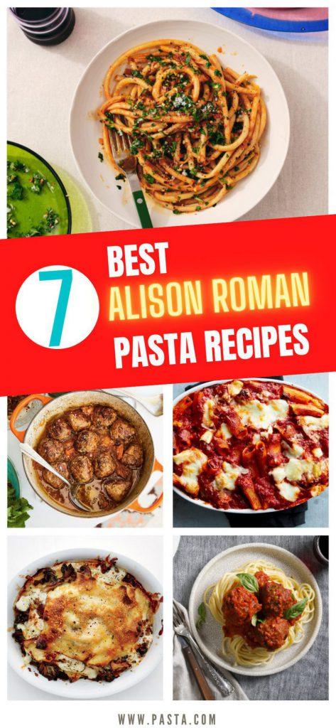 Alison Roman Pasta Recipes