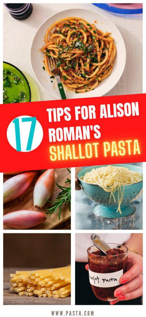 Alison Roman Shallot Pasta