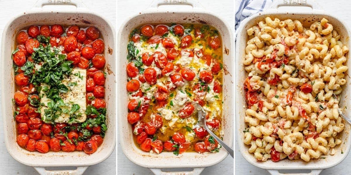 Baked TikTok Feta Pasta Recipes That Went Viral