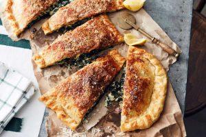 Spinach Pancetta and Ricotta Pie