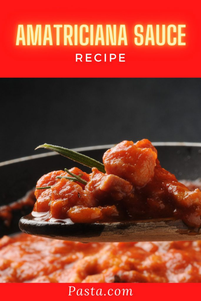 Amatriciana Sauce Recipe