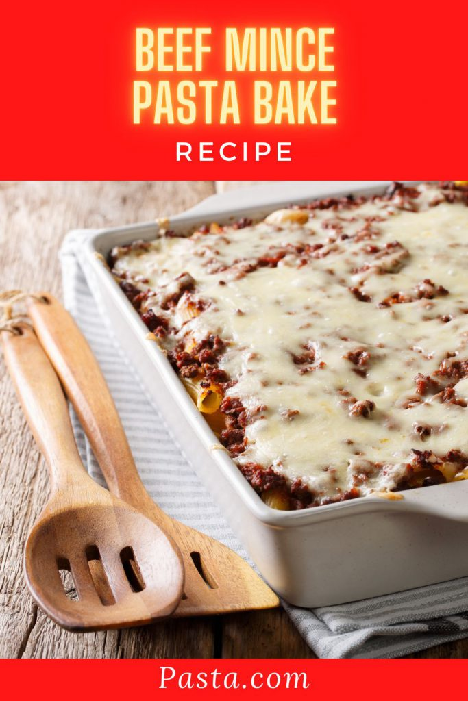 Beef Mince Pasta Bake Recipe