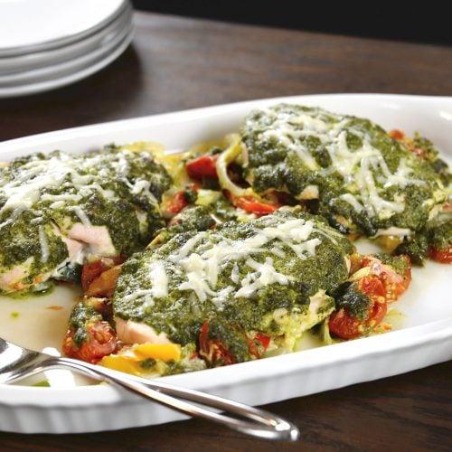 Chicken Pesto Bake Recipe
