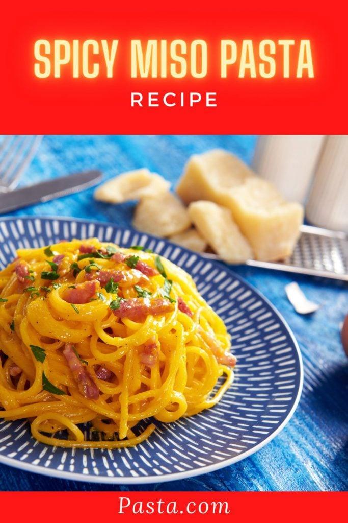 Spicy Miso Pasta Recipe
