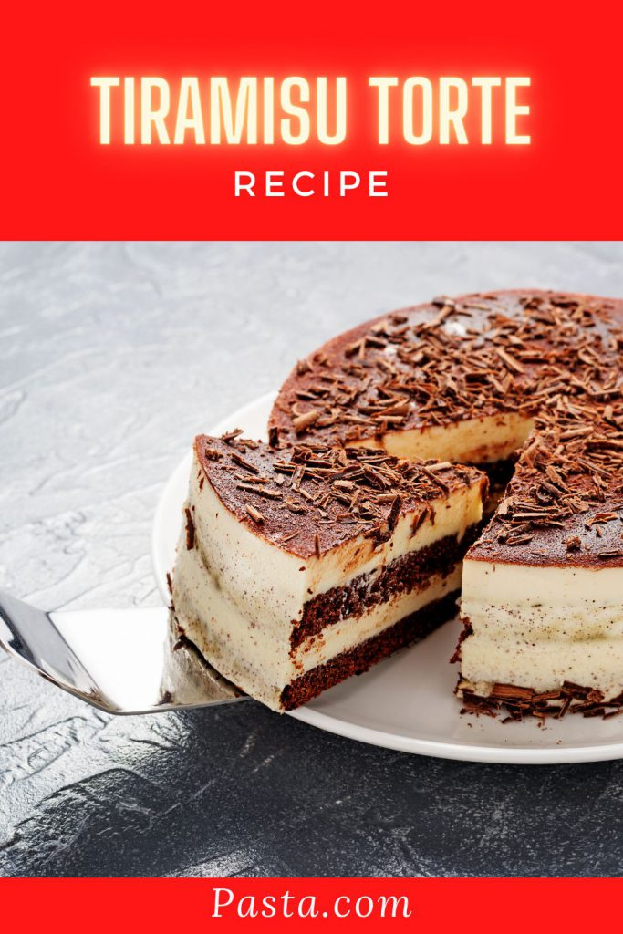 Tiramisu Torte Recipe
