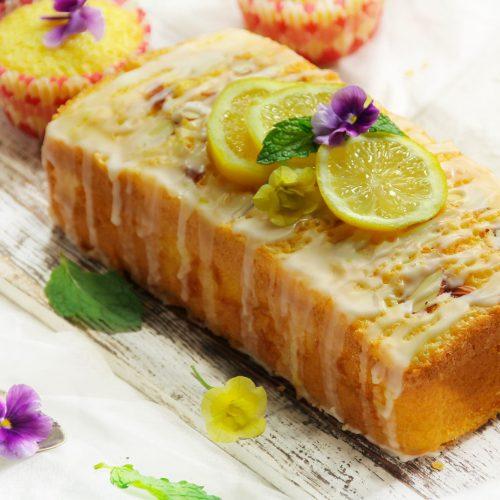 Vegan Lemon Olive Oil Cake
