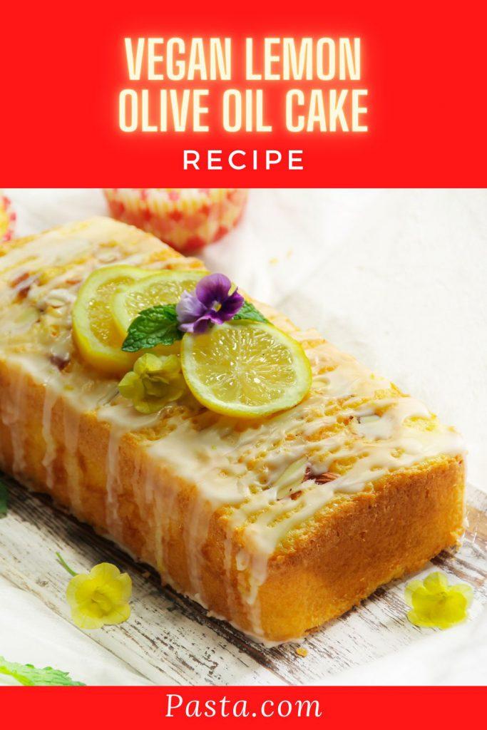 Vegan Lemon Olive Oil Cake Recipe