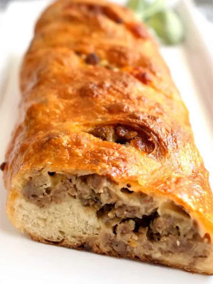 Easy Sausage Bread