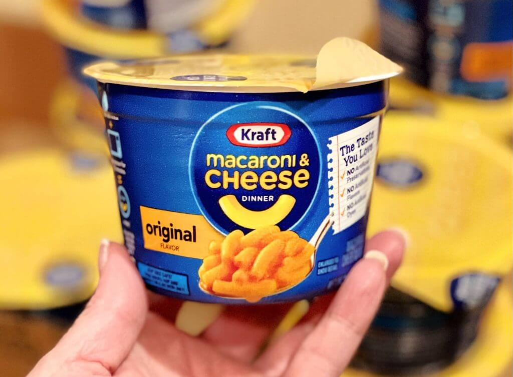 Kraft Mac and Cheese 'Easy Mac' Cups