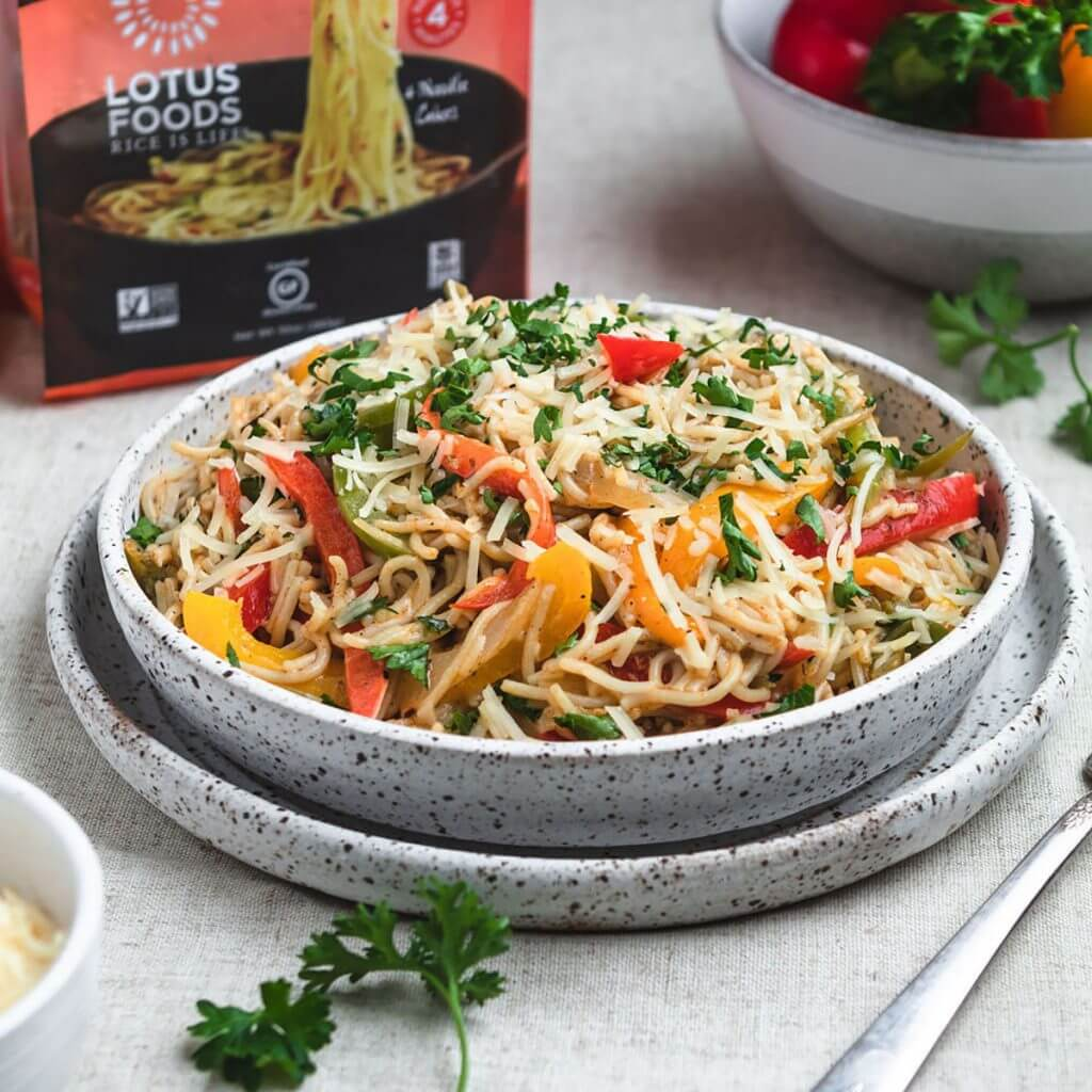 Ramen Noodle Rasta Pasta