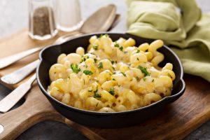 Truffle Mac and Cheese with Truffle Mayo