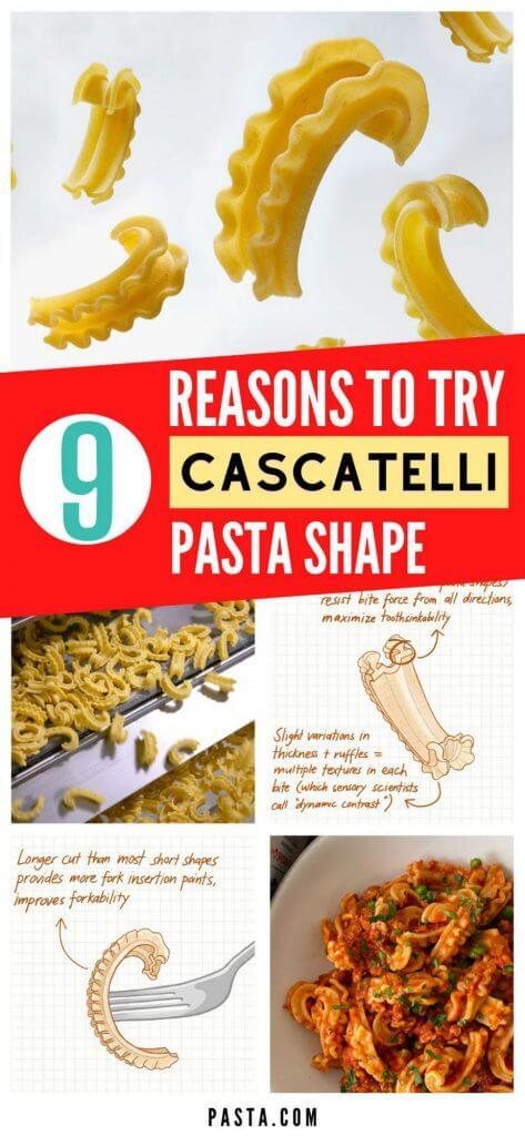 Cascatelli Waterfall Pasta Shape