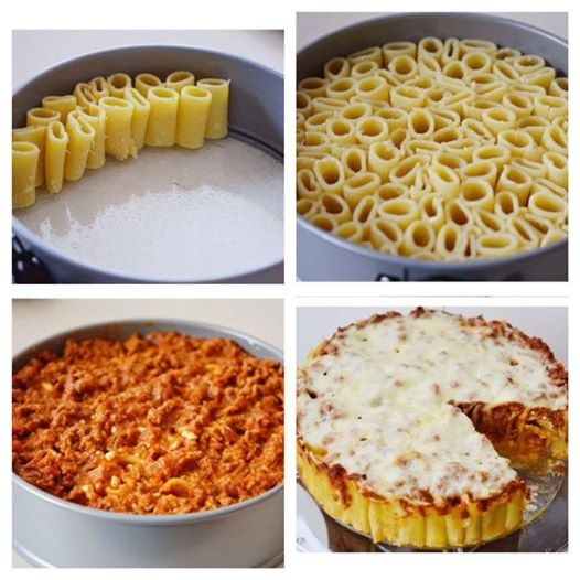 Honeycomb Pasta Step by Step