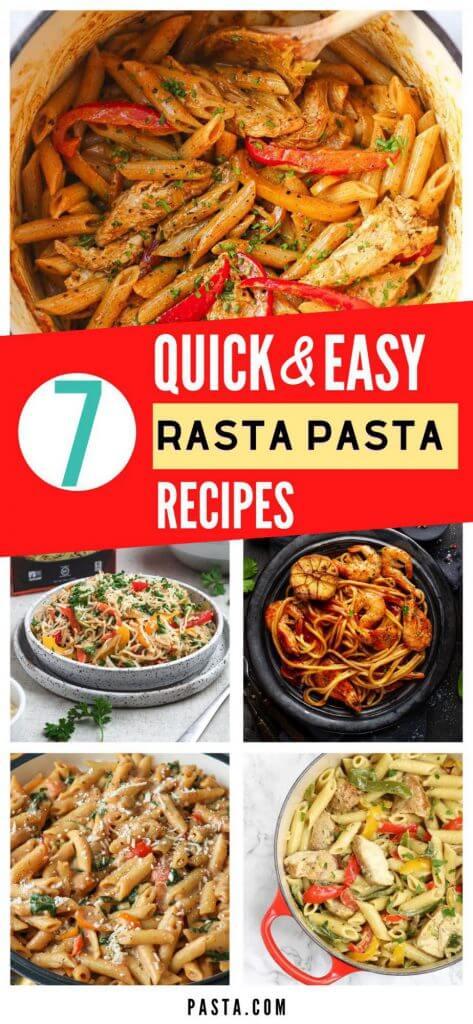Rasta Pasta Recipes