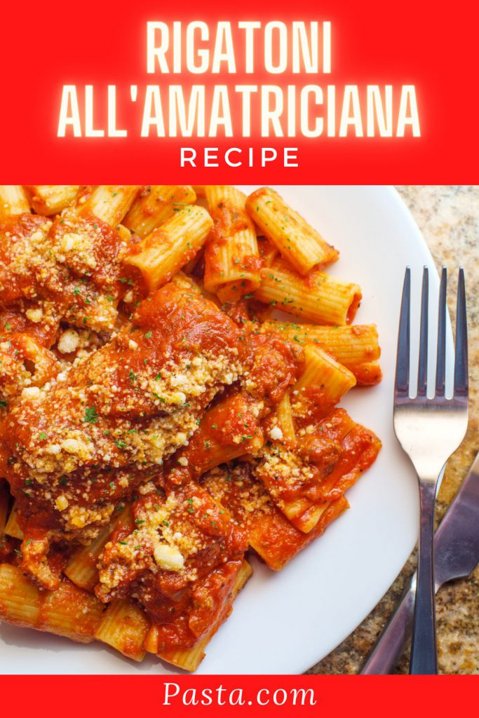 Rigatoni allAmatriciana Recipe