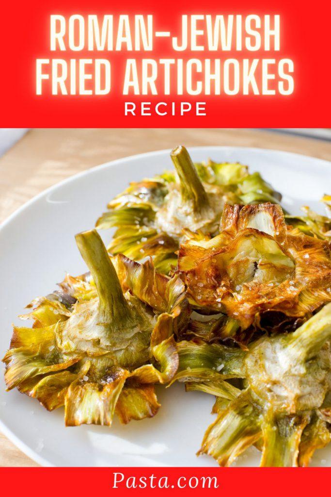 Roman-Jewish Fried Artichokes Recipe