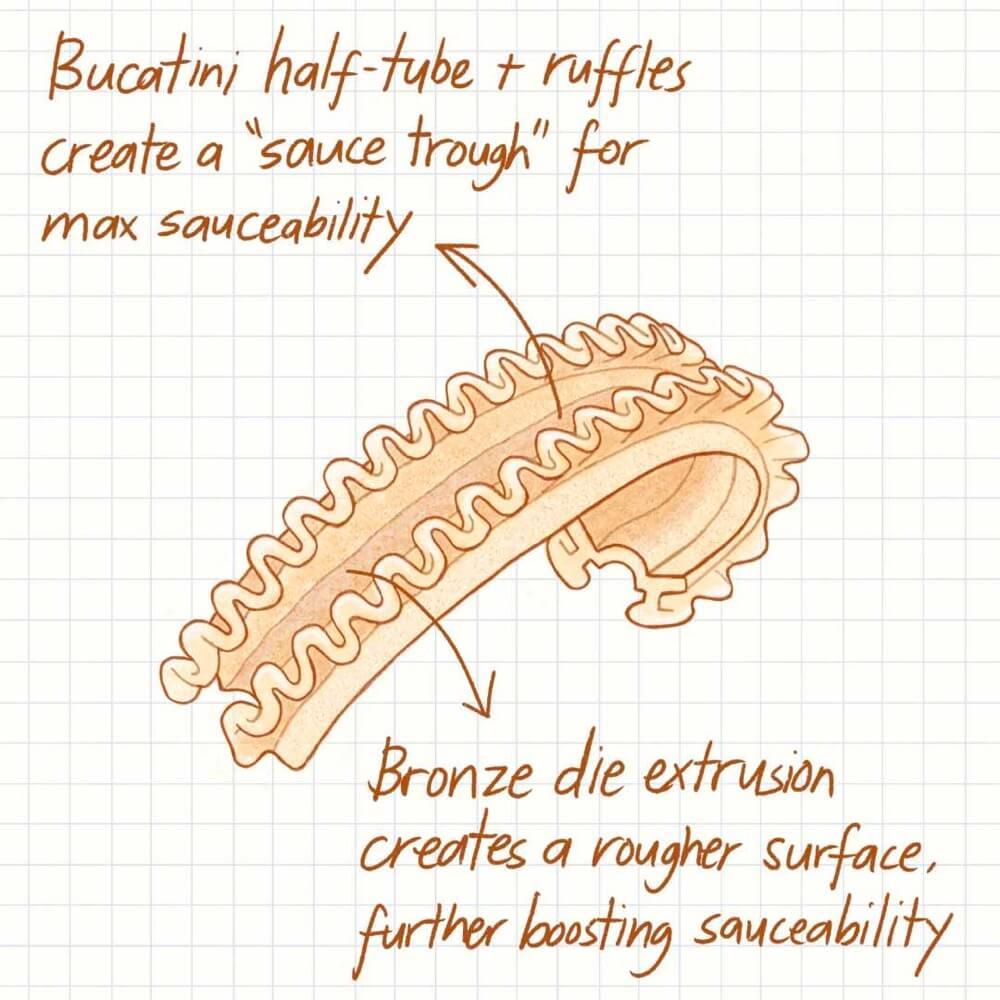 Cascatelli Sauceability
