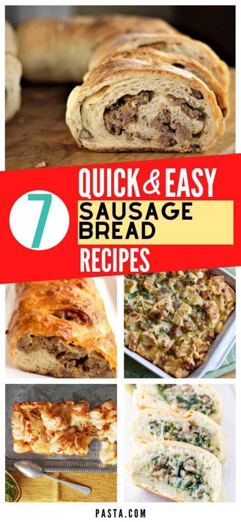 Sausage Bread Recipes