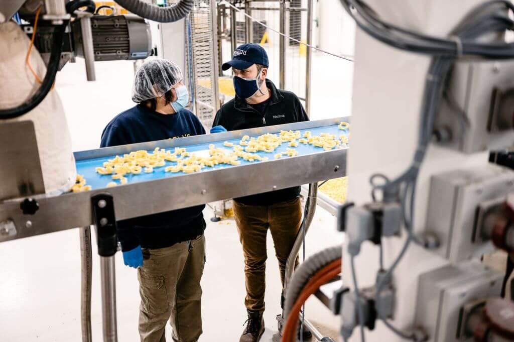 Sporkful Factory Visit
