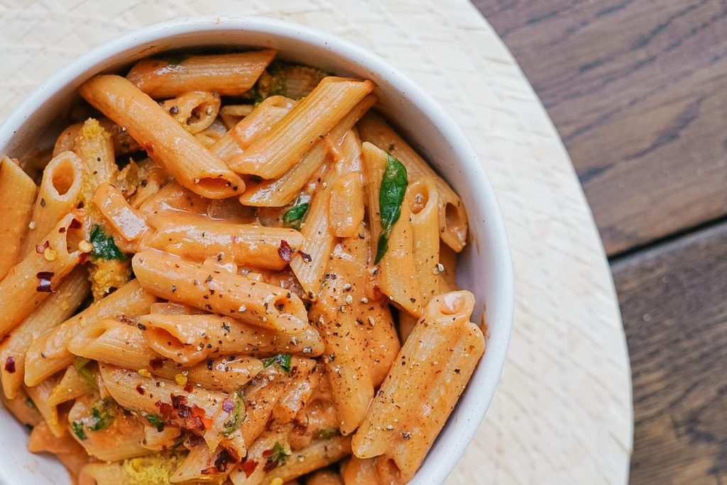 Gigi Hadid's Spicy Vodka Pasta