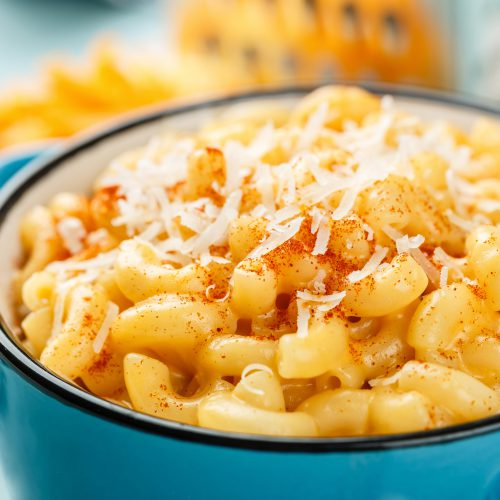 Spicy Truffle Mac and Cheese