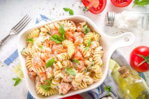 Spicy Truffle Pasta Salad