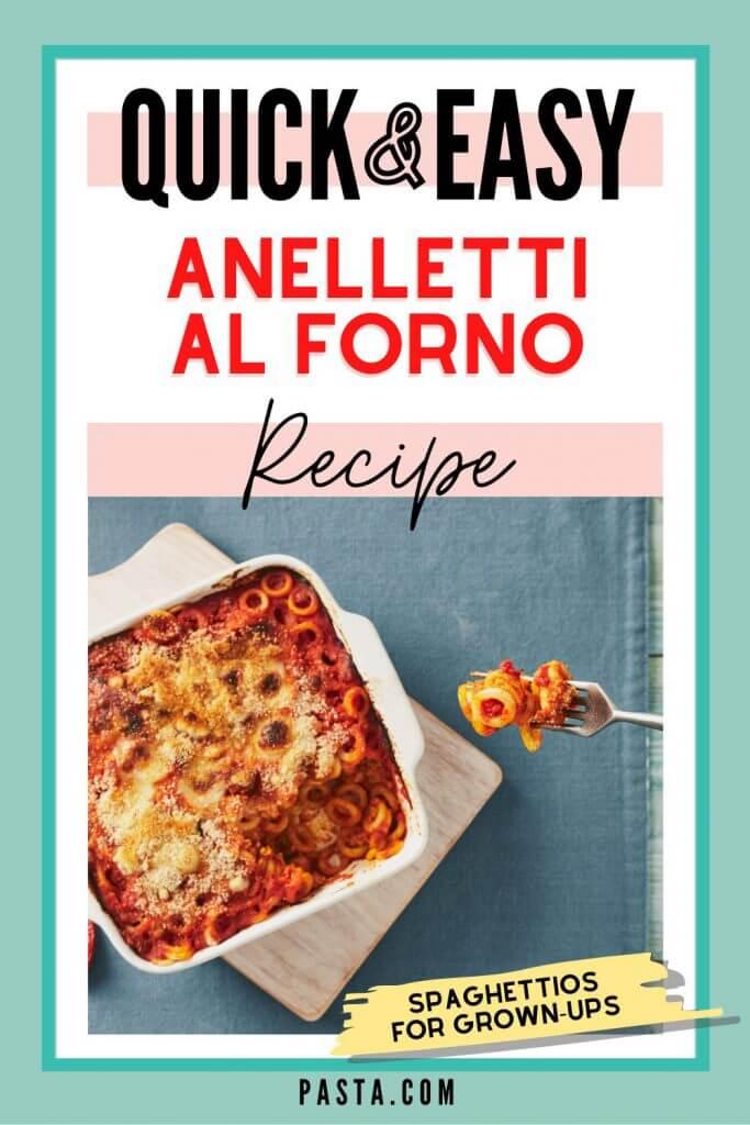 Anelletti al Forno Pasta Recipe