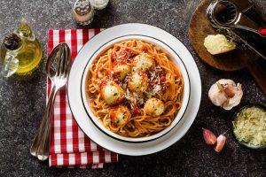Spaghetti Polpette di Ricotta