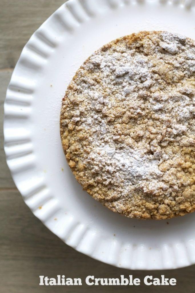 Italian Apple Crumble Cake-Torta Sbriciolata alle Mele