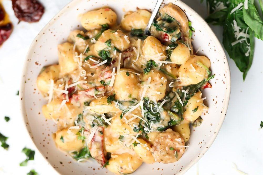 Tuscan Vegan Gnocchi