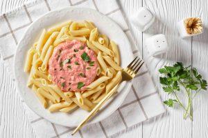 Penne Pink Sauce Pasta Recipe