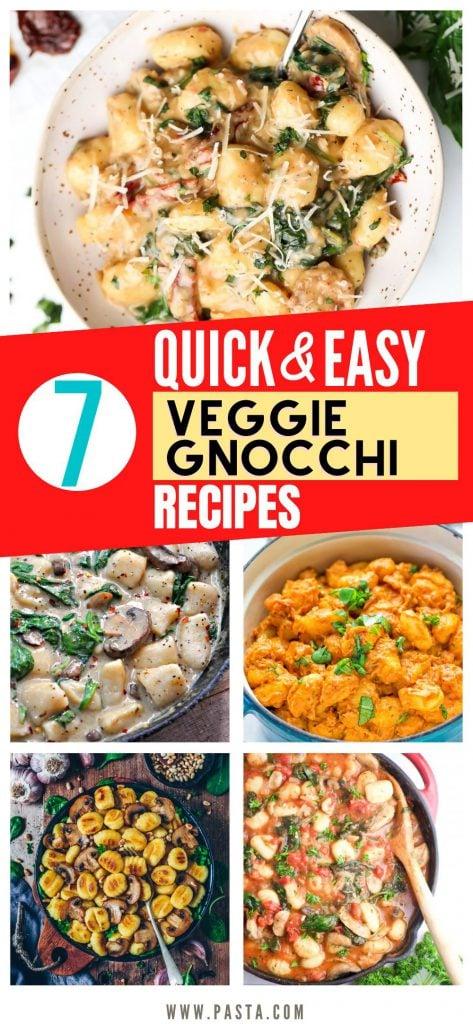 Veggie Gnocchi Recipes