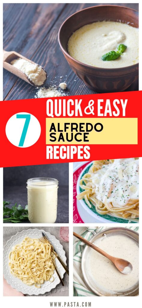 Alfredo Sauces without Heavy Cream