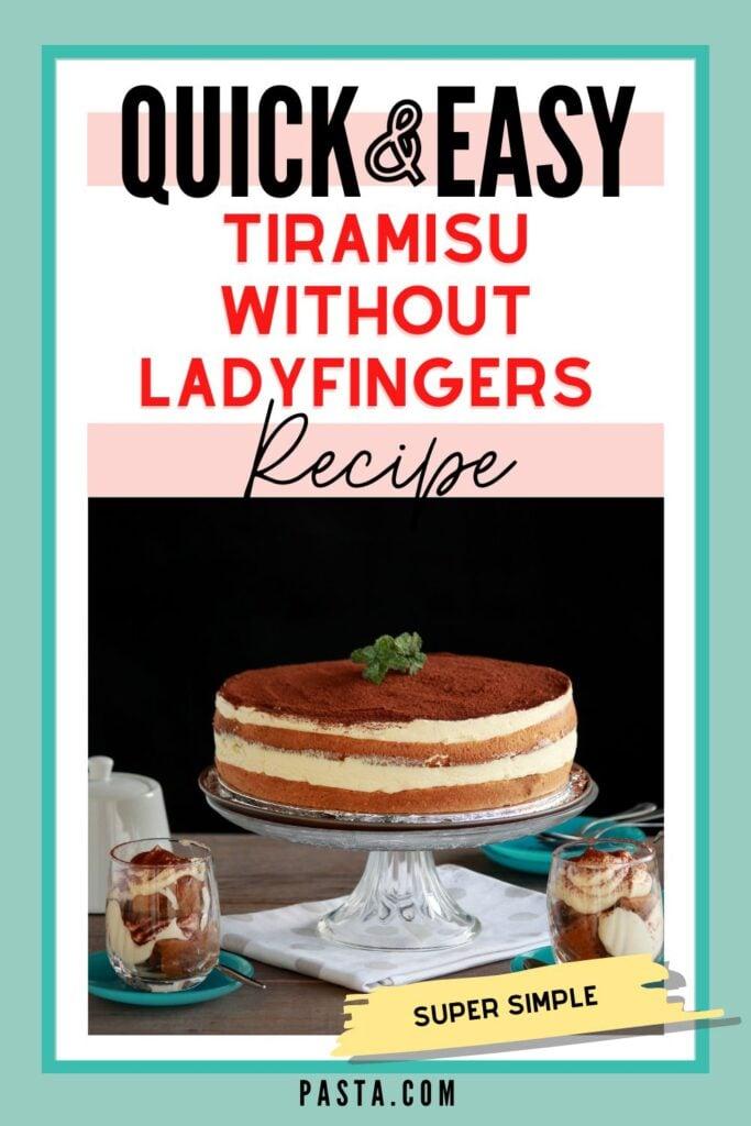 Tiramisu without Lady Fingers